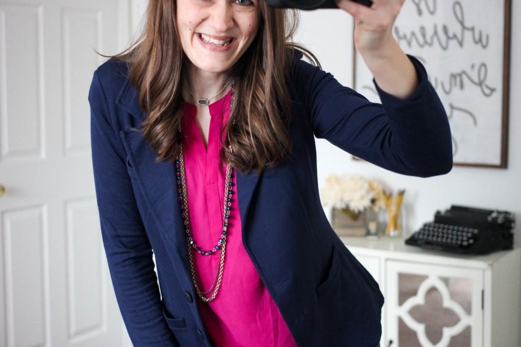 Kaylie French Terry Blazer from Tart - February Stitch Fix