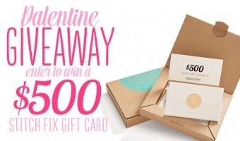 $500 Stitch Fix Valentine Giveaway