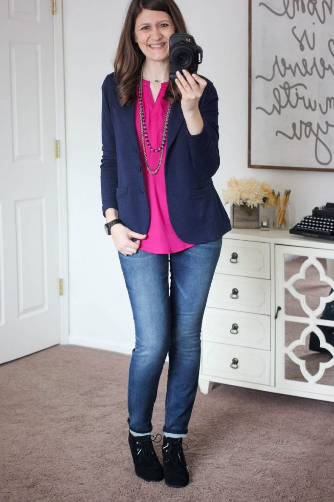 Kaylie French Terry Blazer from Tart - February Stitch Fix