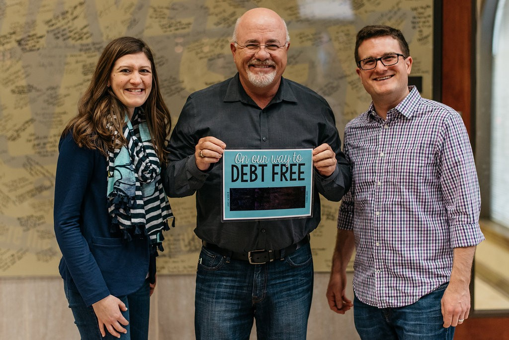 Rob, Maria and Dave Ramsey