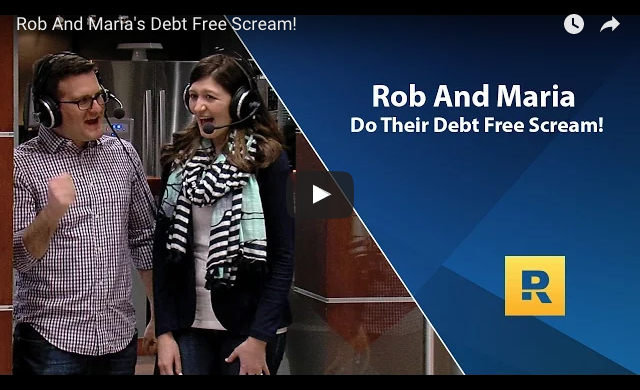 Dave Ramsey Show Debt Free Scream Video