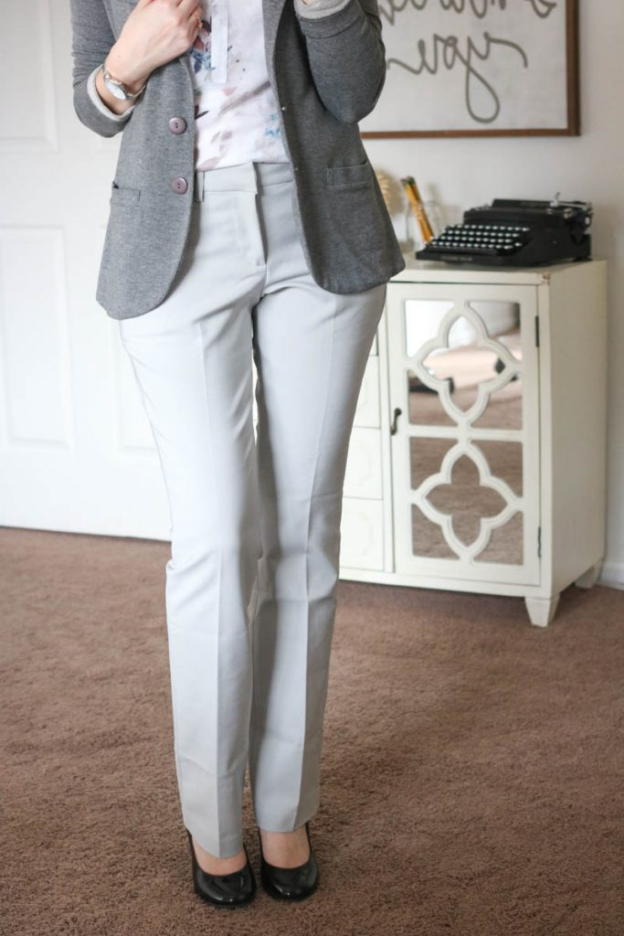 Harper Bootcut Pant from Liverpool & Terry Solid French Terry Blazer from Tart - March Stitch Fix