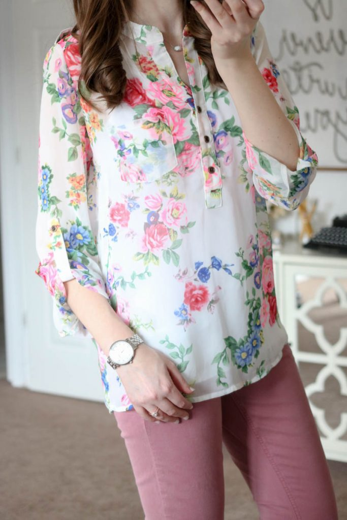 Lucio Henley Blouse from Alice Blue - March Stitch Fix