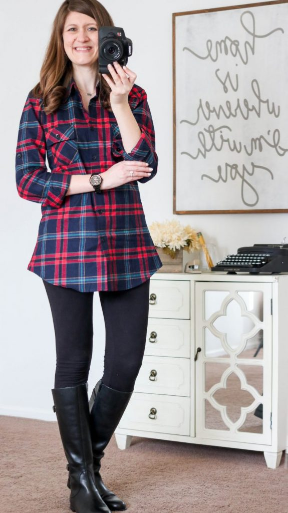 4422ea25622 The perfect plaid flannel shirt and it's from Amazon!