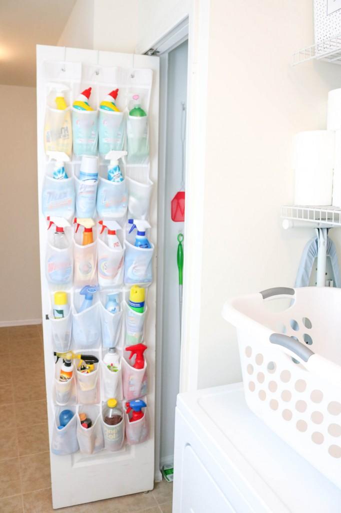 laundry room storage idea