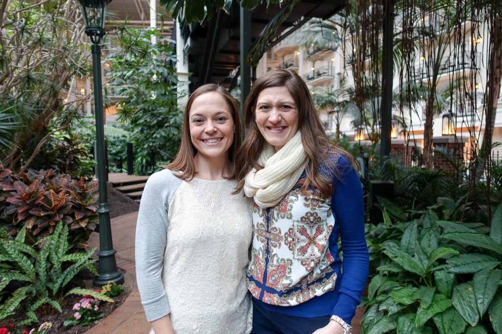 Maria and Katie at Opryland