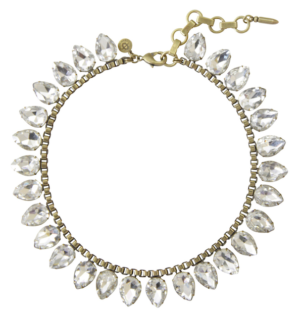 Loren Hope Sylvia necklace in crystal