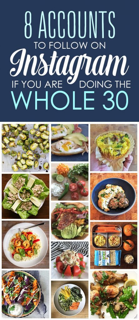 Whole 30 Instagram Accounts