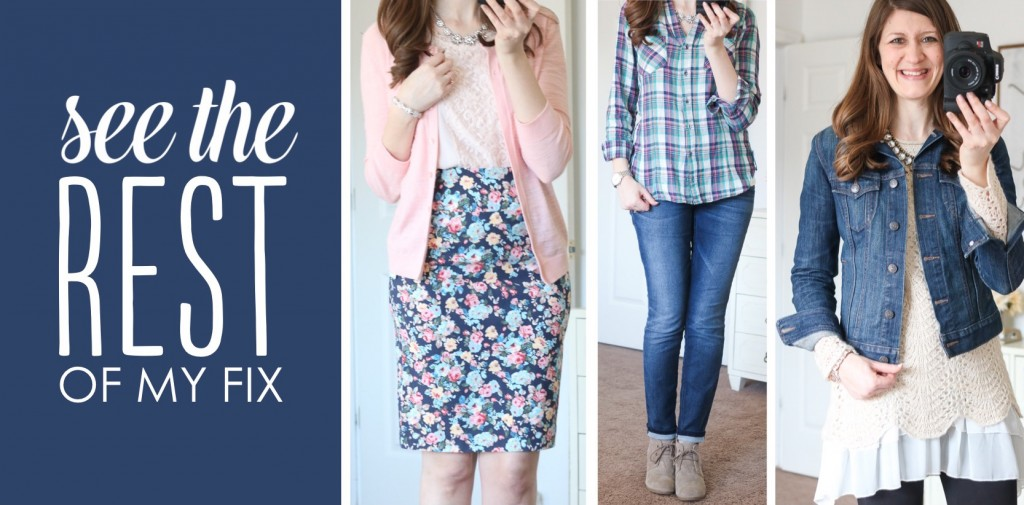 April Stitch Fix Review, Giveaway and Link UP (#35)