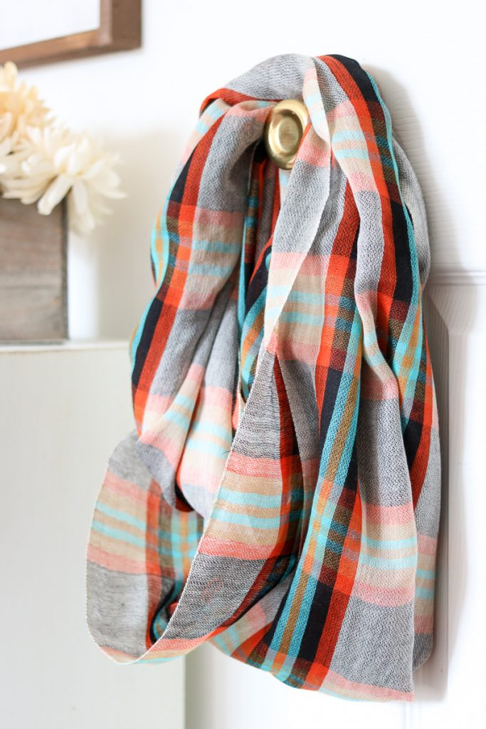 Nova Scotia Plaid Infinity Scarf from Mangrove - April Stitch Fix