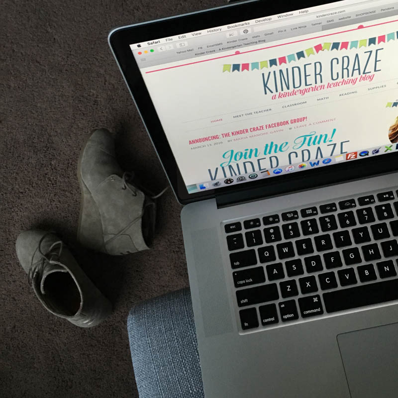 a day in the life of a teacher-blogger
