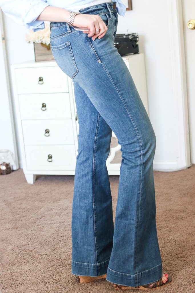 Treasure&Bond Flare Jeans Mode Medium Vintage - Trunk Club review