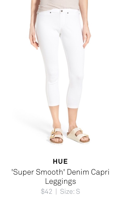 "Hue ""Super Smooth"" Denim Capri Leggings - trunk club review"