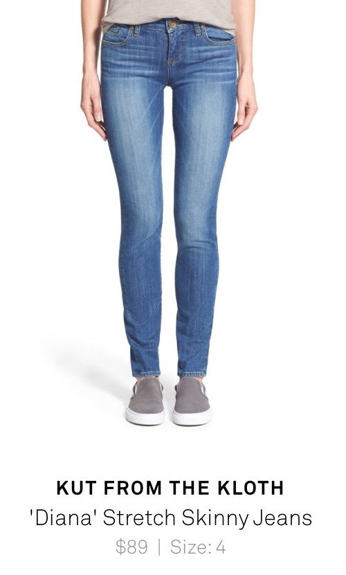 """Diana"" stretch skinny jeans - Kut from the Kloth - shipped from Trunk Club"