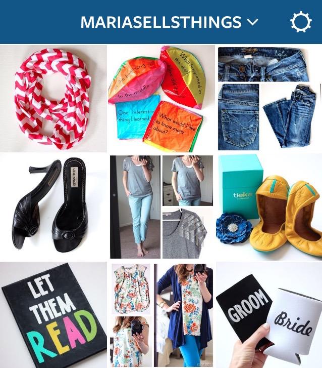 Maria Sells Things Instagram