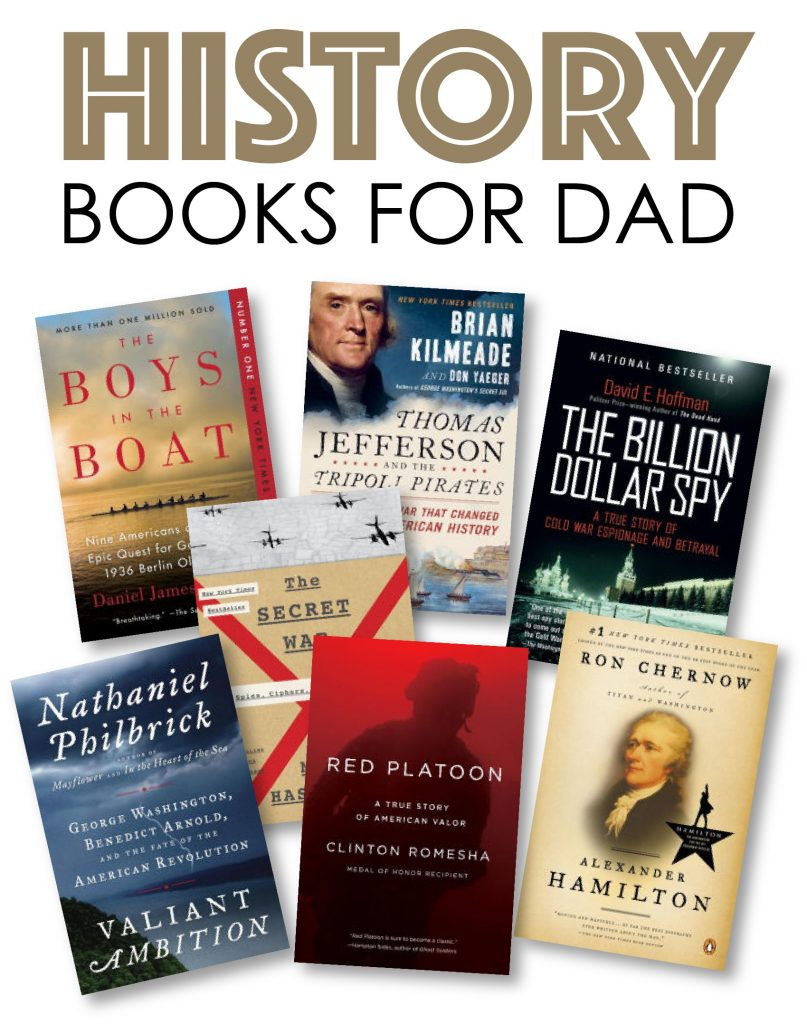 History books for dad