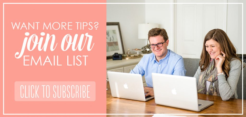 blogging tips email list