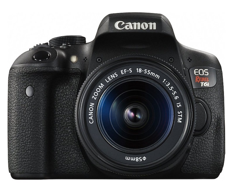 Canon T6i DSLR camera - blogging tools