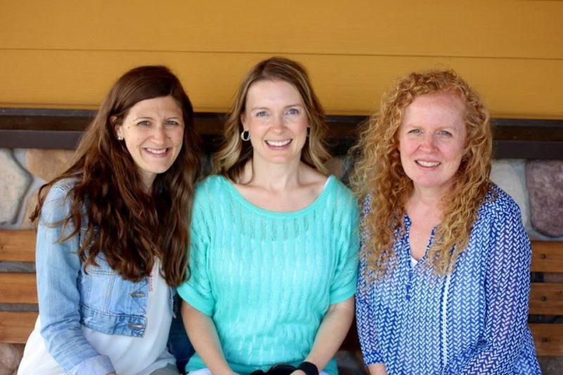 Marsha McGuire, Maria Gavin and Jodi Southard