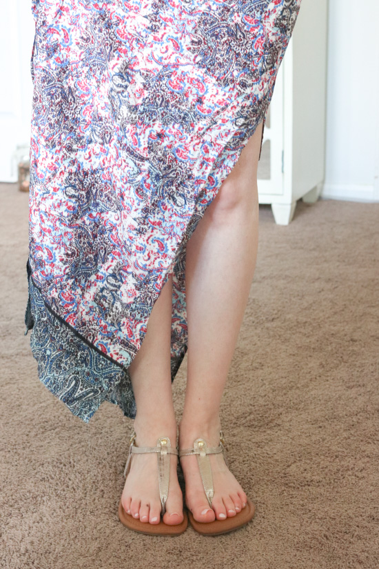 Kaleia Maxi Dress from Renee C - June Stitch Fix review