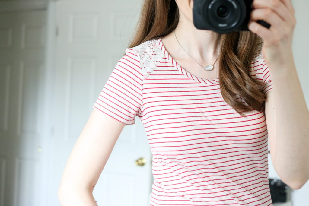 Stazi Lace Shoulder Knit Top from Loveapella - Stitch Fix