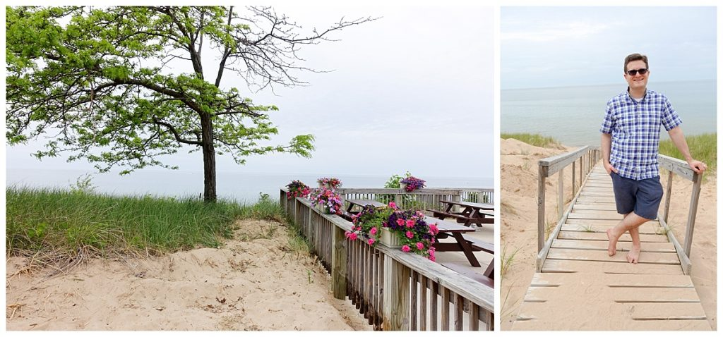 Opal Beach in Saugatuck, Michigan