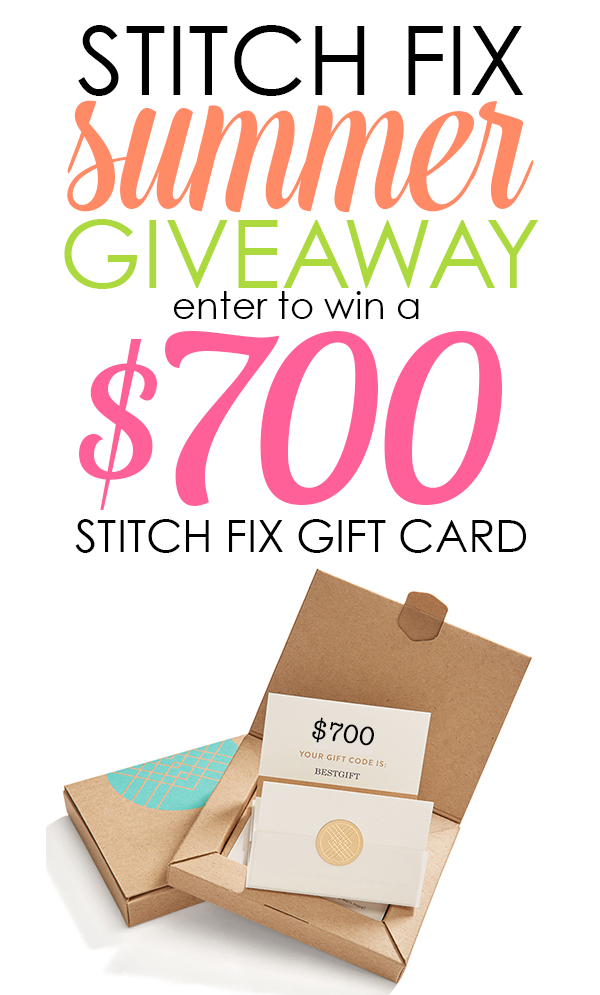 Enter to WIN a $700 Stitch Fix gift card!
