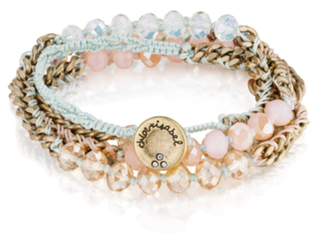 Chloe and Isabel beaded wrap bracelet