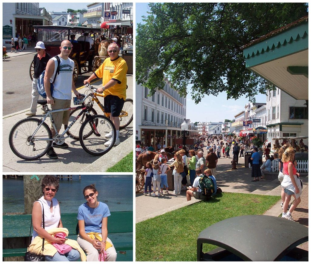 family vacation on Mackinac Island