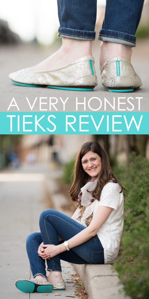 This blogger provides a complete (and honest!) review about Tieks. She answers all of the questions I've been dying to ask!