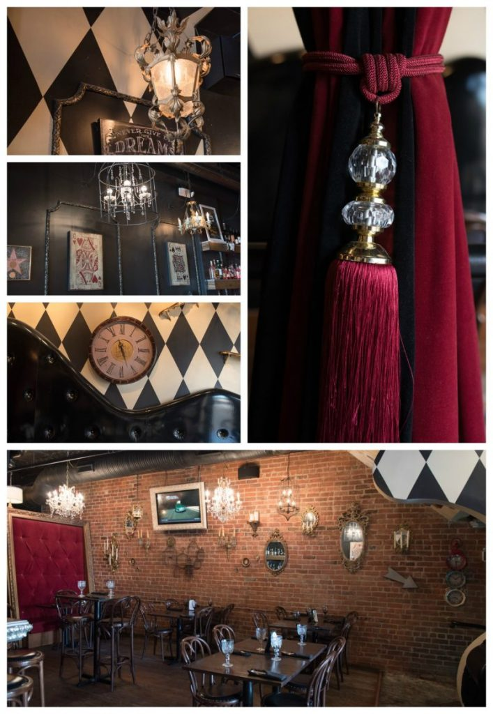 Mad Hatter Bistro in Birmingham, Michigan - Alice in Wonderland themed bar and tea room
