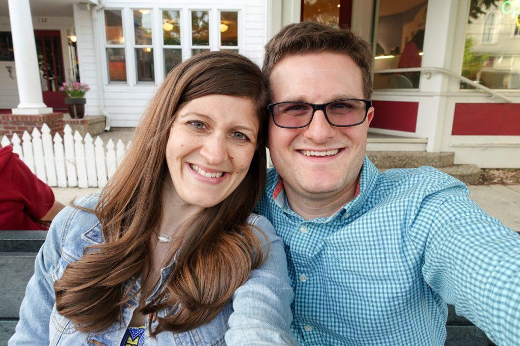 Rob and Maria Gavin - travel bloggers