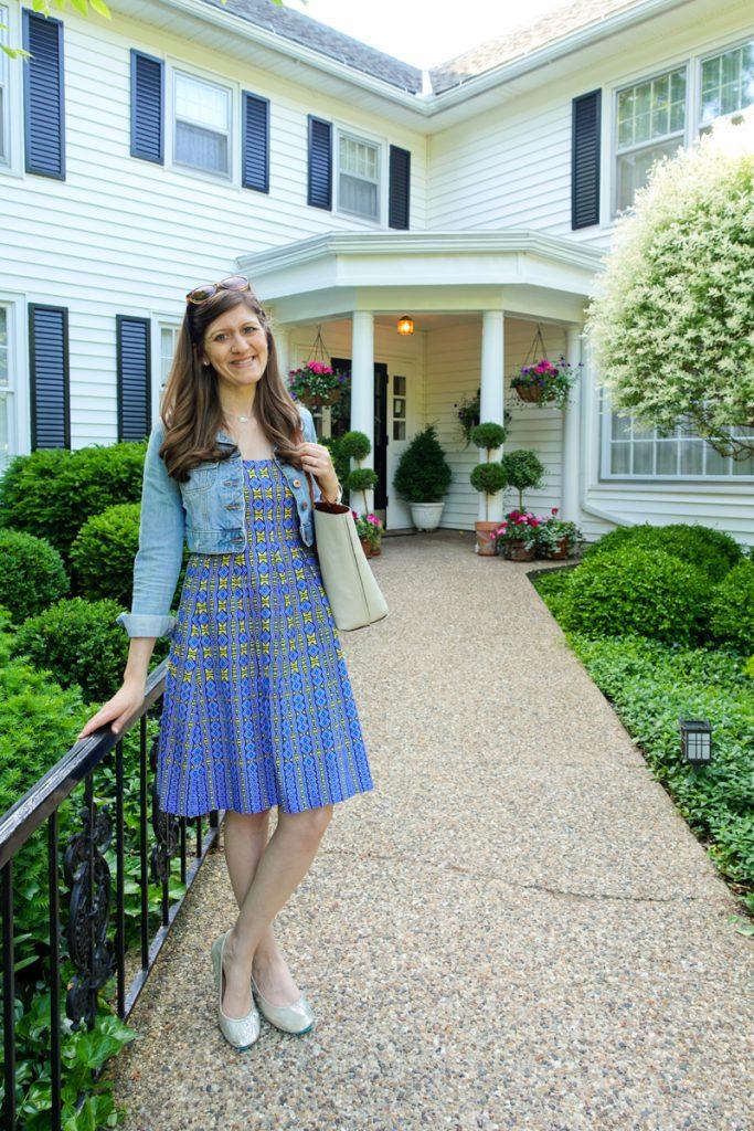 Maria Gavin at The Wickwood Inn in Saugatuck, Michigan - travel blogger