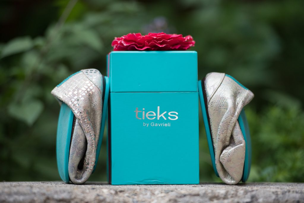 Tieks box and packaging