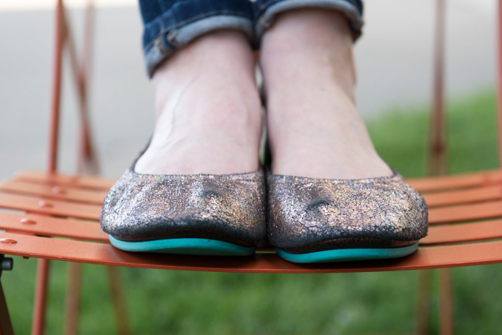 Do Tieks make your feet sweat? This blogger answers lots of questions about her Tieks