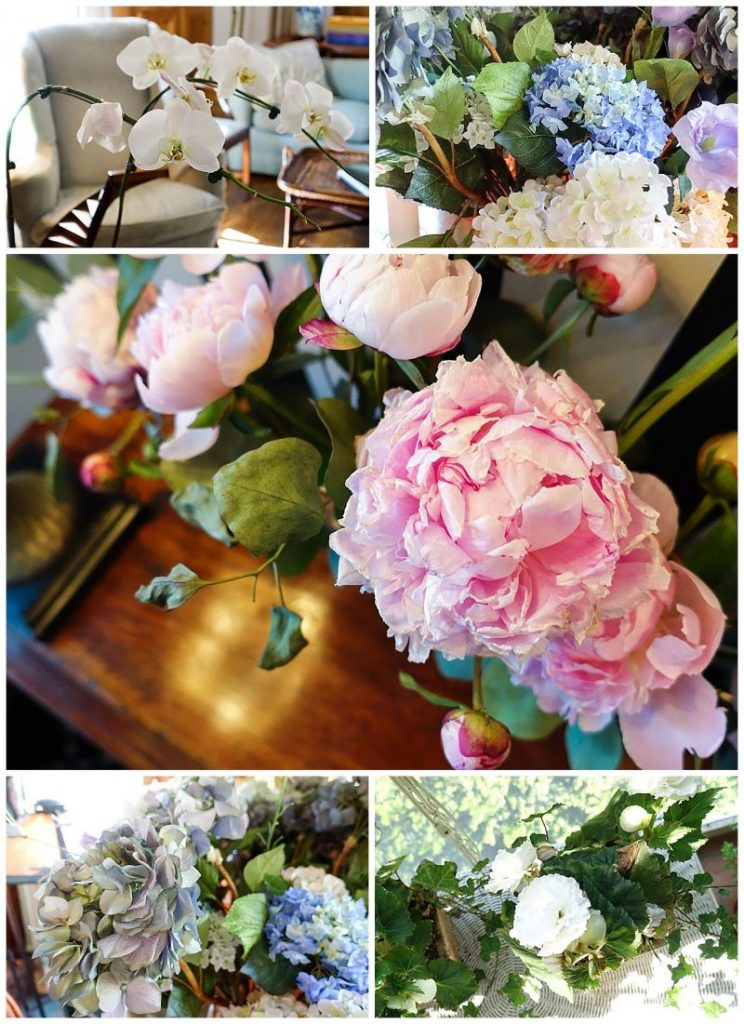 the Wickwood Inn bed and breakfast in Saugatuck, Michigan. Gorgeous flowers!
