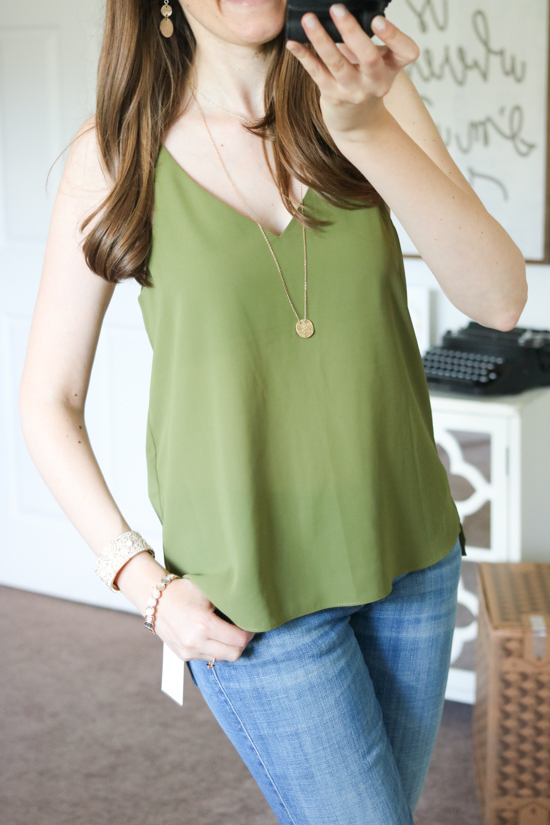 V-Neck Camisole from Topshop: July Trunk Club Review