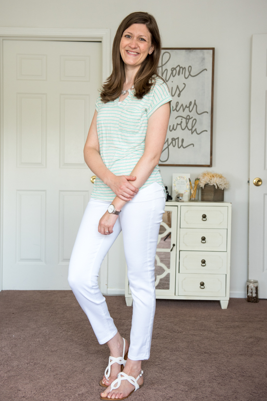Catarina Knit Top from Papermoon - August Stitch Fix review