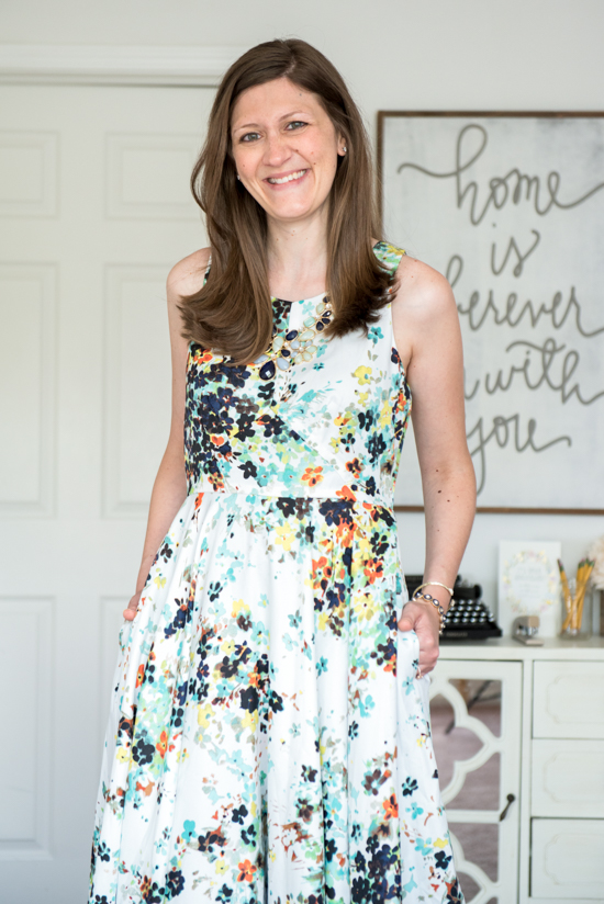 Lideea Dress from Donna Morgan - August Stitch Fix review