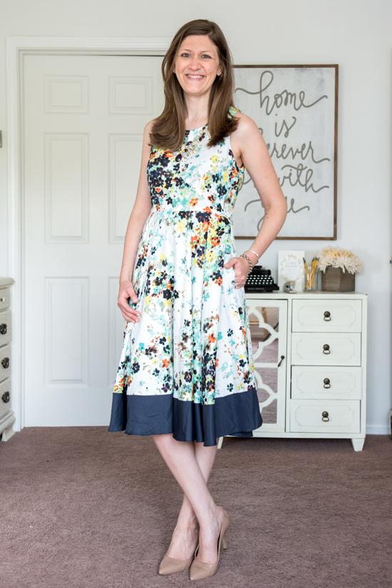 Lideea Dress from Donna Morgan - August Stitch Fix review