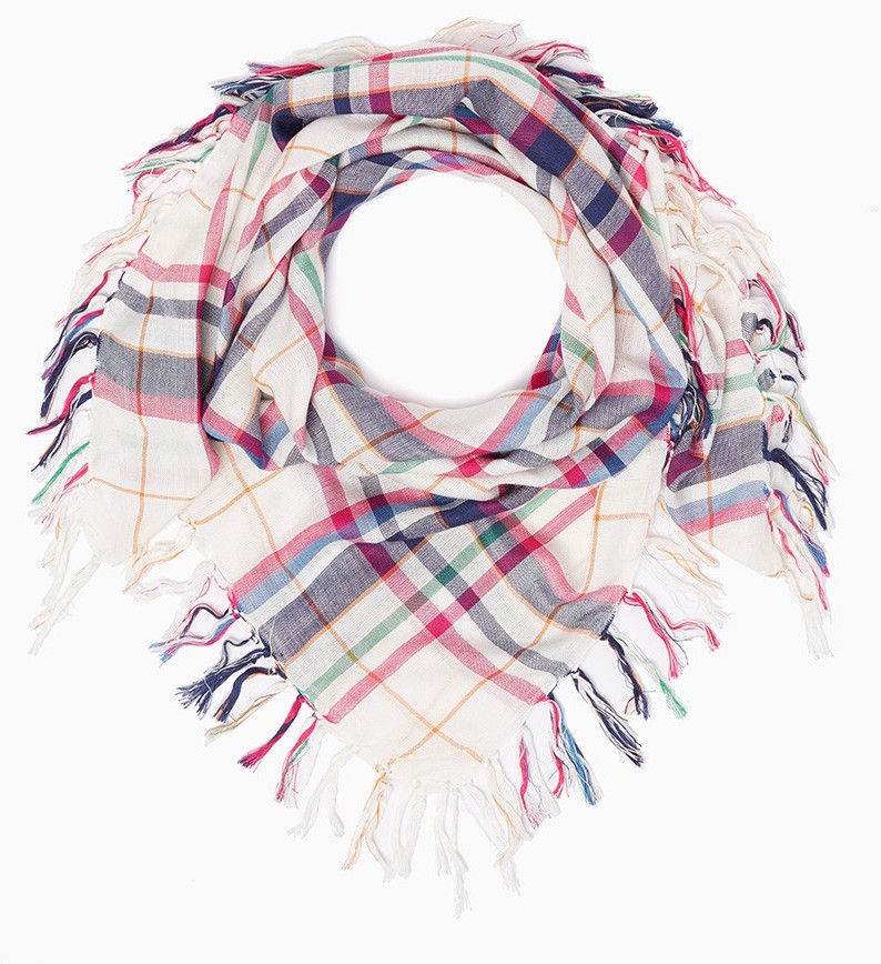 perfect plaid scarf for the fall transition