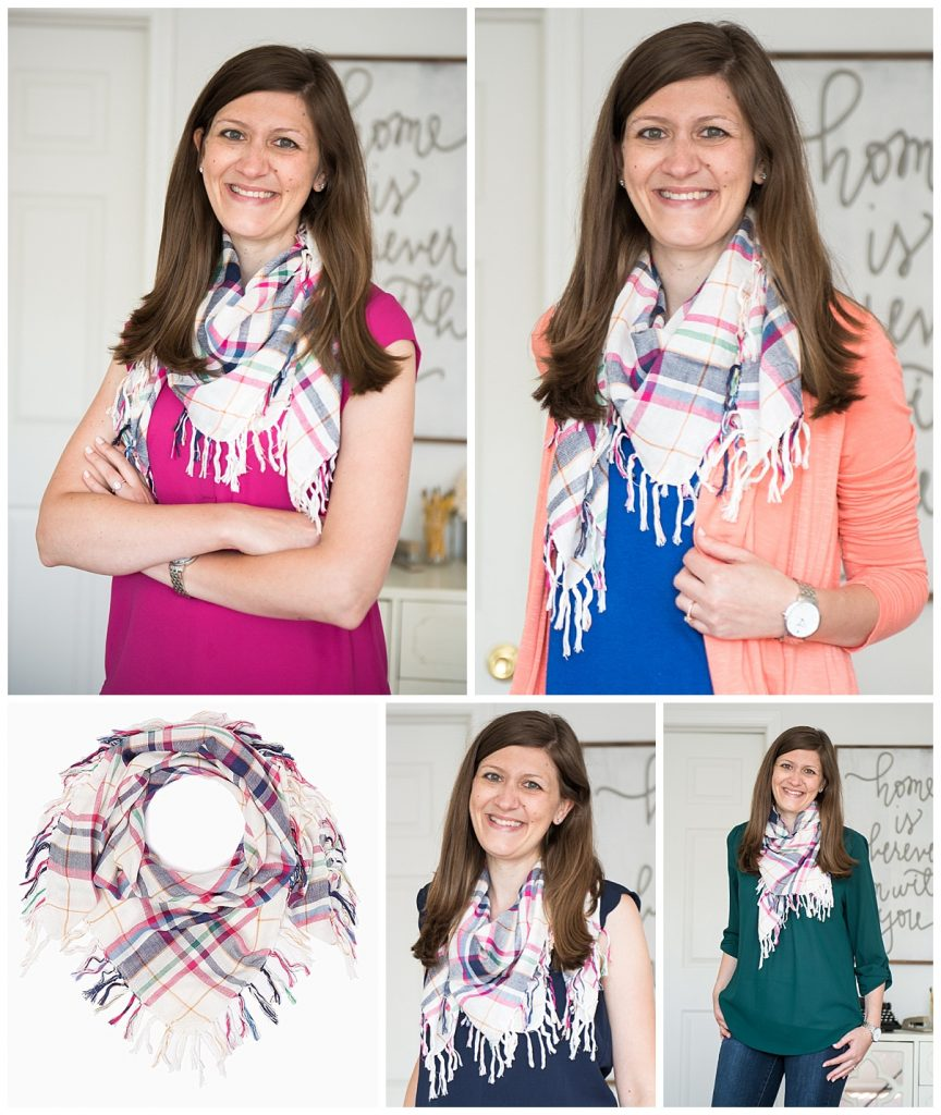 charming-charlie-plaid-scarf-for-fall-transition