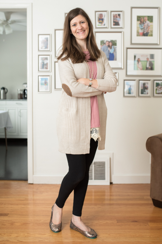 Cassi Open Cardigan from RD Style - September 2016 Stitch Fix review