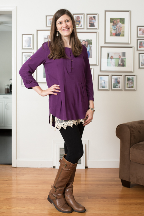 Barty Henley Tunic from Market & Spruce - October 2016 Stitch Fix review