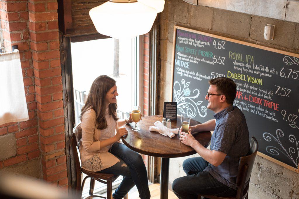 downtown drinks with Stitch Fix Men