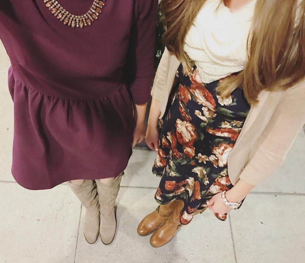 Alli and Maria's #dresswithus photo