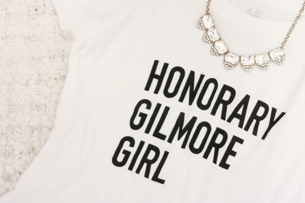 Honorary Gilmore Girl tshirt