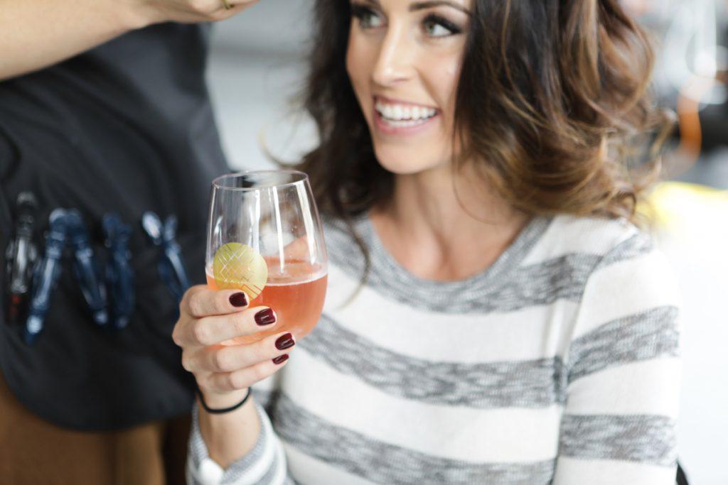 Stich Fix and rosé