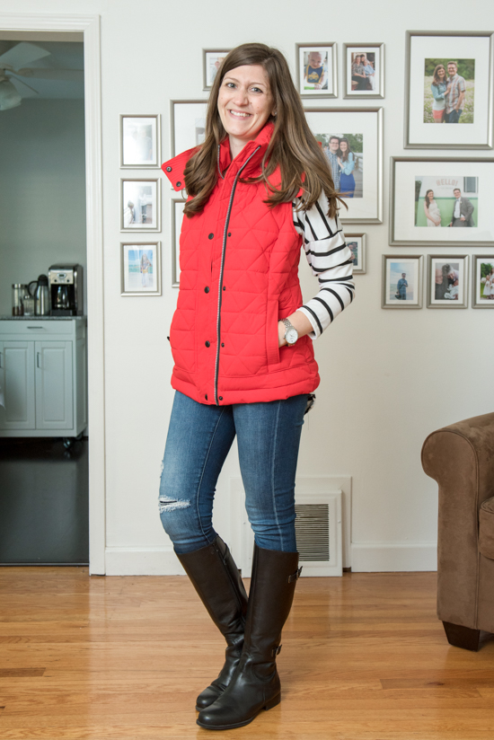 Skien Quilted Puffer Vest from Andrew Marc - November Stitch Fix review