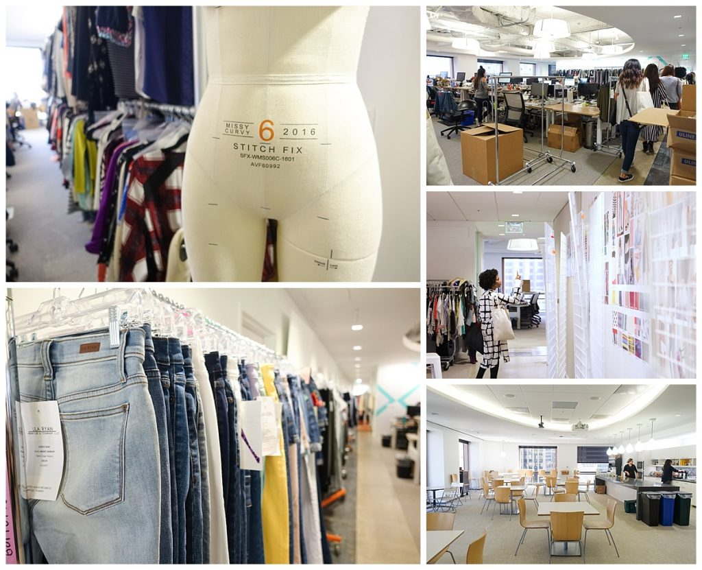 a tour of Stitch Fix headquarters in San Francisco